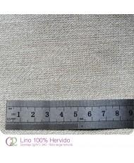 Tela lino 100% hervido 1X3.4 m