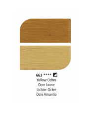 C&R: Óleo Yellow Ochre (663) 38ml Graduate Daler-Rowney