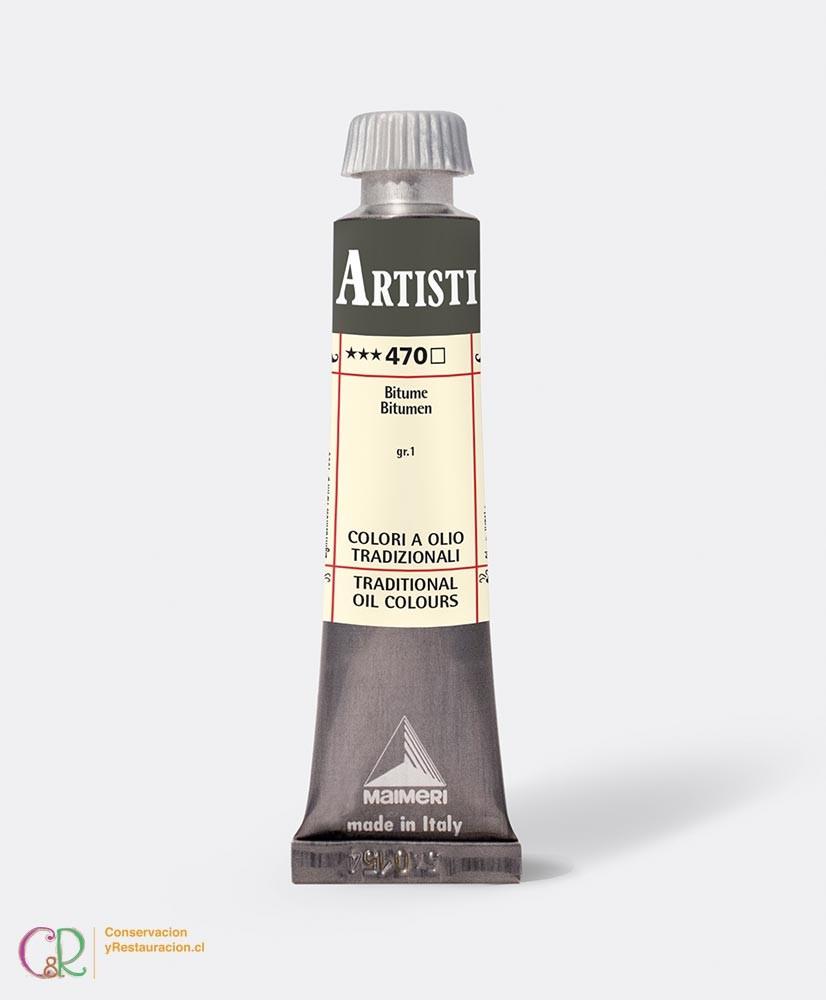 C&R: Óleo 470 - Bitumen 20ml- Artisti Maimeri