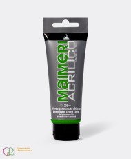 C&R: Acrílico 339 - Permanent Green Light 75ml Maimeri