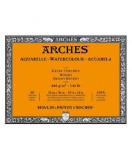 C&R: Block acuarela 26x36cm 300gr Arches Rough
