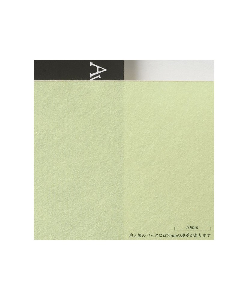 C&R: Kitakata Green (Awagami) 36g papel japones / Japanese paper