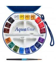 C&R: Acuarela Aquafine - Daler Rowney de 18 colores