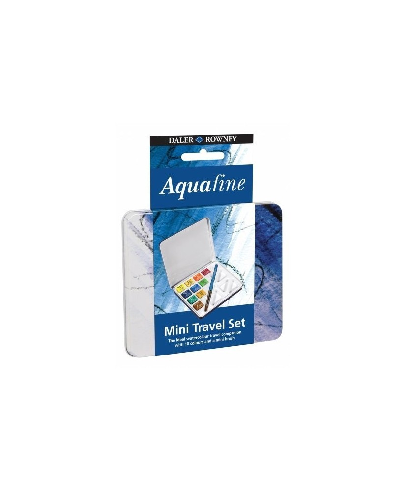 C&R: Acuarela Aquafine - Daler Rowney de 10 colores