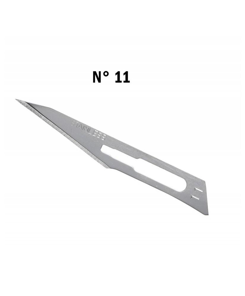 C&R: Hoja bisturí N 11 para mango N°3