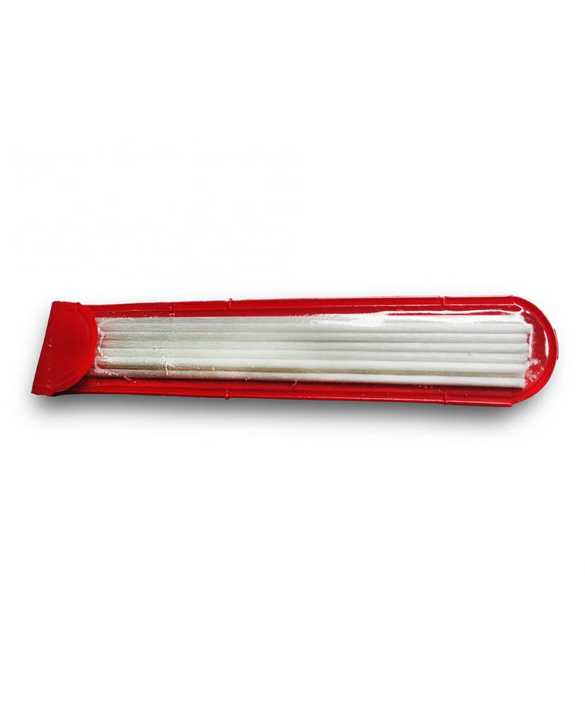 C&R: 12 Uni Repuestos de fibra de vidrio de 2mm