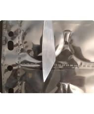 Hoja para álbum de polipropileno de 20 Ø40 mm  Cod 67