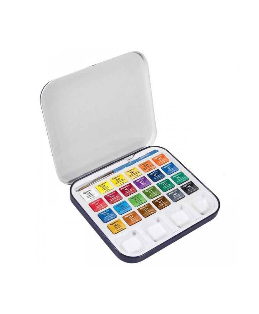 Acuarela Aquafine - Daler Rowney de 24 colores