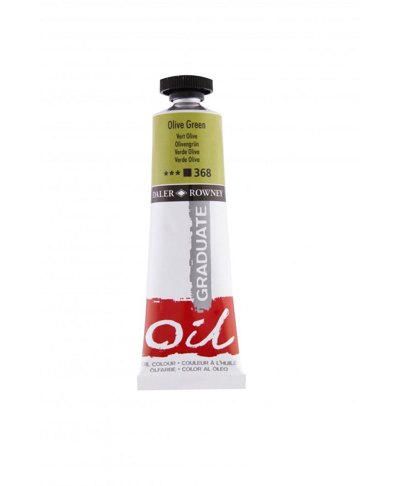 C&R: Óleo Olive Green (368) 38ml Graduate Daler-Rowney