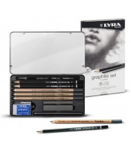 C&R: Set Graphite Lyra Rembrandt 11pcs