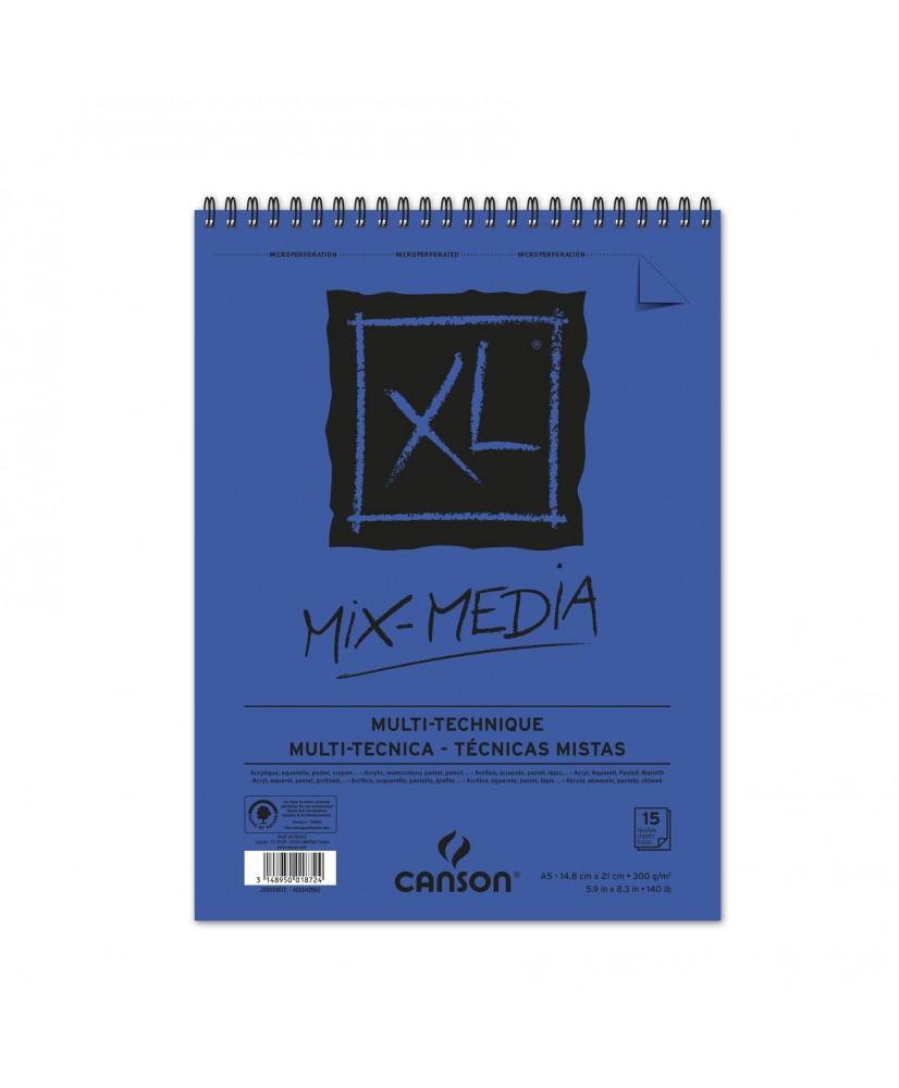 C&R: Croquera Canson XL Mix media A5