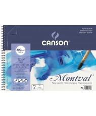 C&R: Croquera Montval acuarela Canson A4 300gr