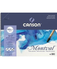 C&R: Croquera Montval acuarela Canson 32x41cm 300gr