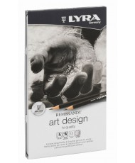 C&R: Set Art design Lyra Rembrandt 12pcs